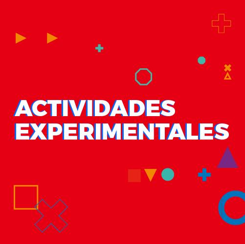 Actividades experimentales