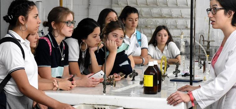 Estudiantes de Santa Fe y Entre Ríos participaron de la Semana Nacional de la Ciencia