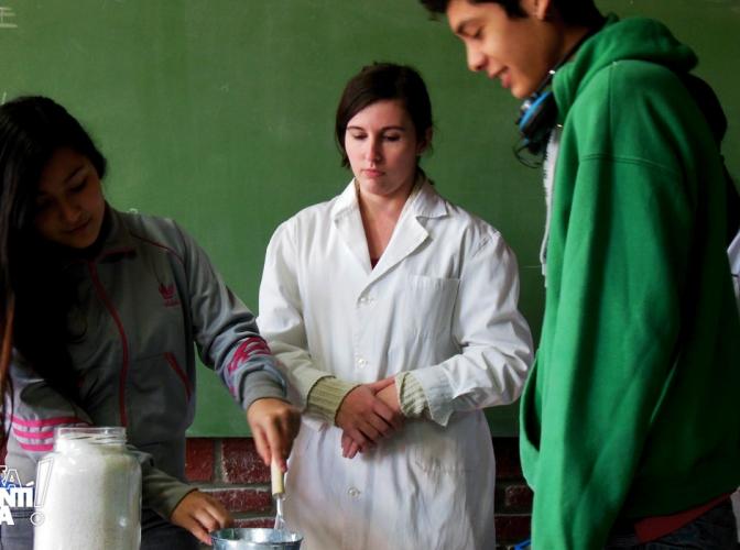 Helados sin heladera son posibles en la Escuela Dr. Mariano Quiroga