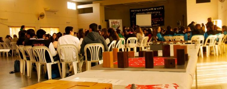 Cultura Nómada fue parte de las jornadas de Matemática en Santo Domingo