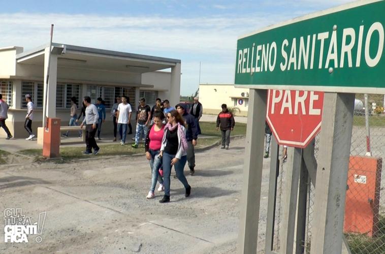 Visita al predio de tratamiento de residuos de Santa Fe