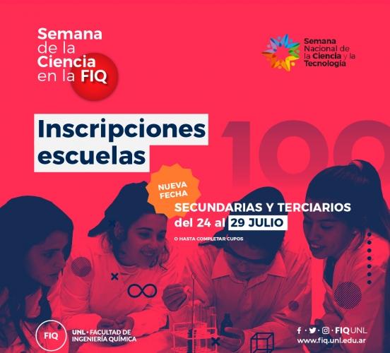 Semana de la Ciencia en la FIQ:  inscripciones abiertas