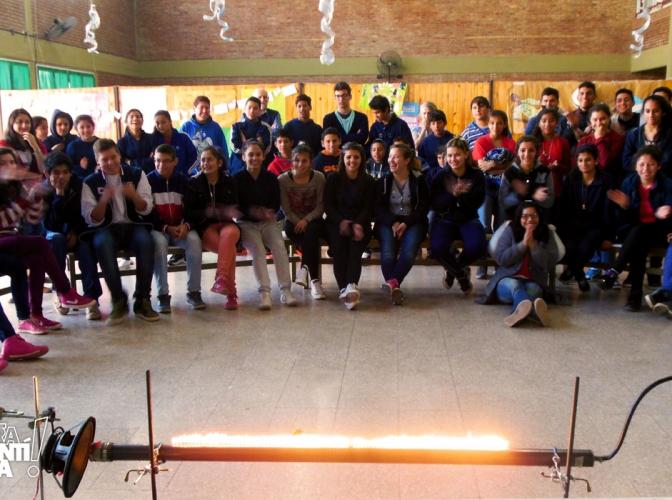 Viernes a pura magia en las escuelas santafesinas