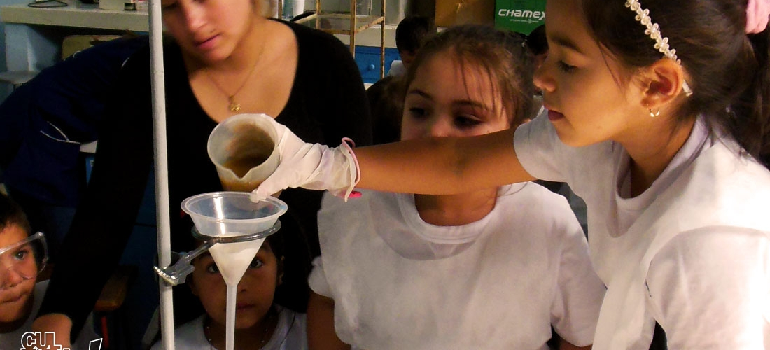 Jardín de Infantes prepara su propio laboratorio