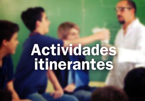 Actividades itinerantes