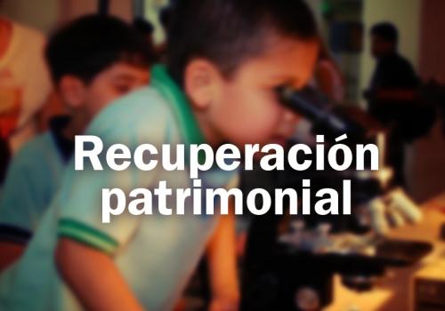 Recuperación patrimonial