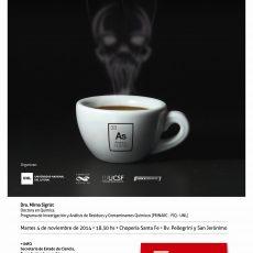 Café científico: el arsénico en nuestra dieta